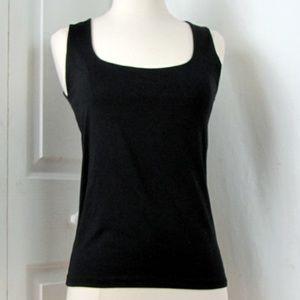 Zara Black Basic T-Shirt M Made in Portugal